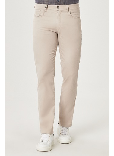 Beymen Business 4B0120200063 Vizon Regular Fit Pantolon  Taş